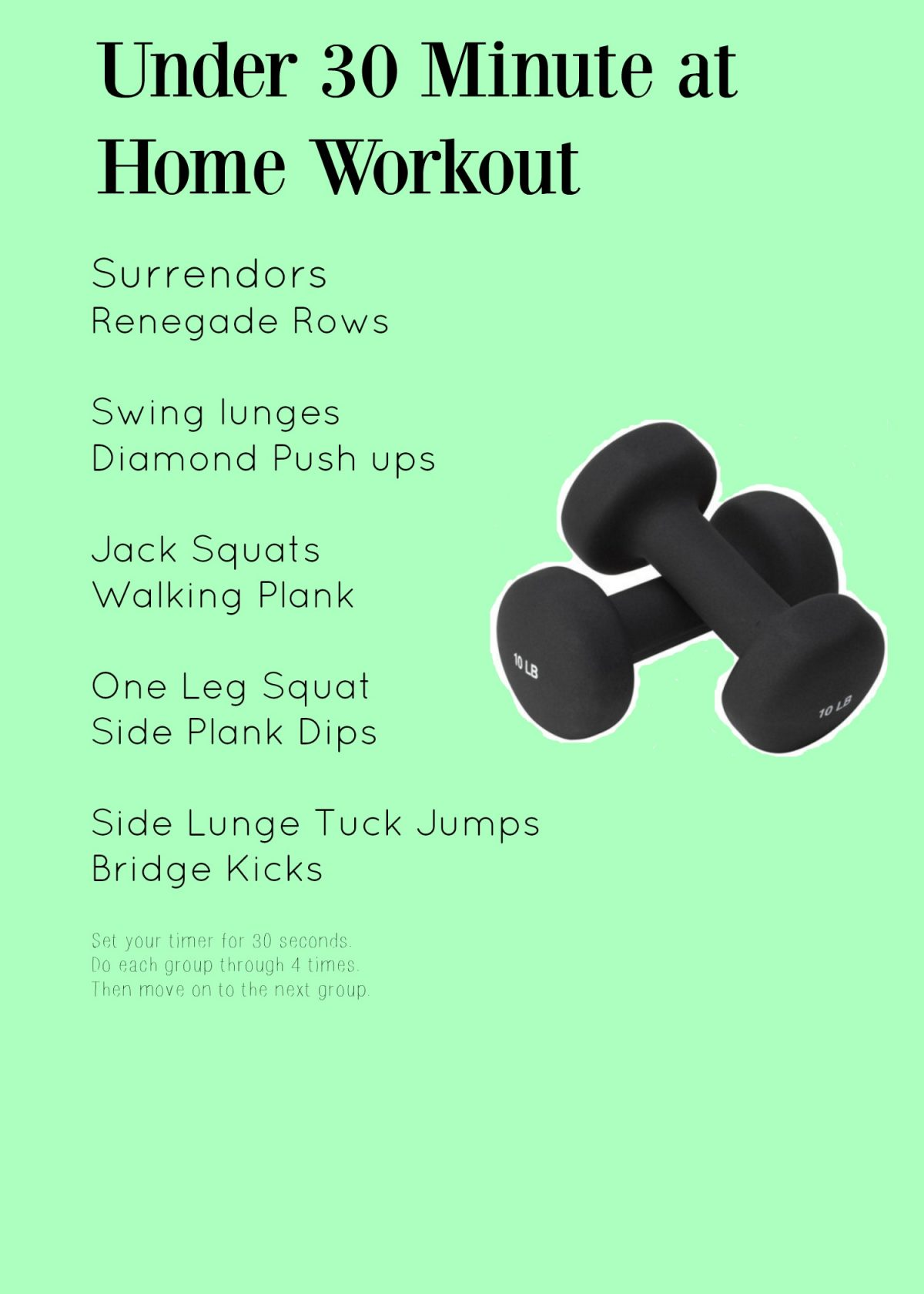 Minute At Home Workout Live Fit Mom